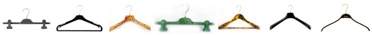Produzione Appendini in plastica, legno, metallo, Grucce, Appendiabiti