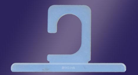 Haken und Klammer für Pakete - Mod. CH15 (hxl) mm 70x116