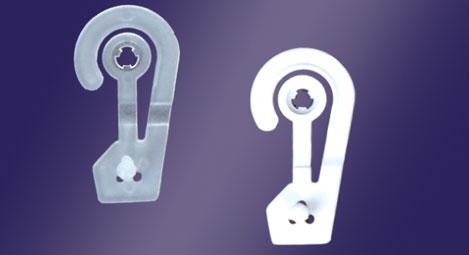 Haken und Klammer für Pakete - Mod. CH31 (hxl) mm 50x26