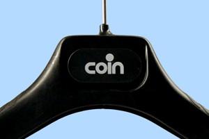 Coin striped black hanger range