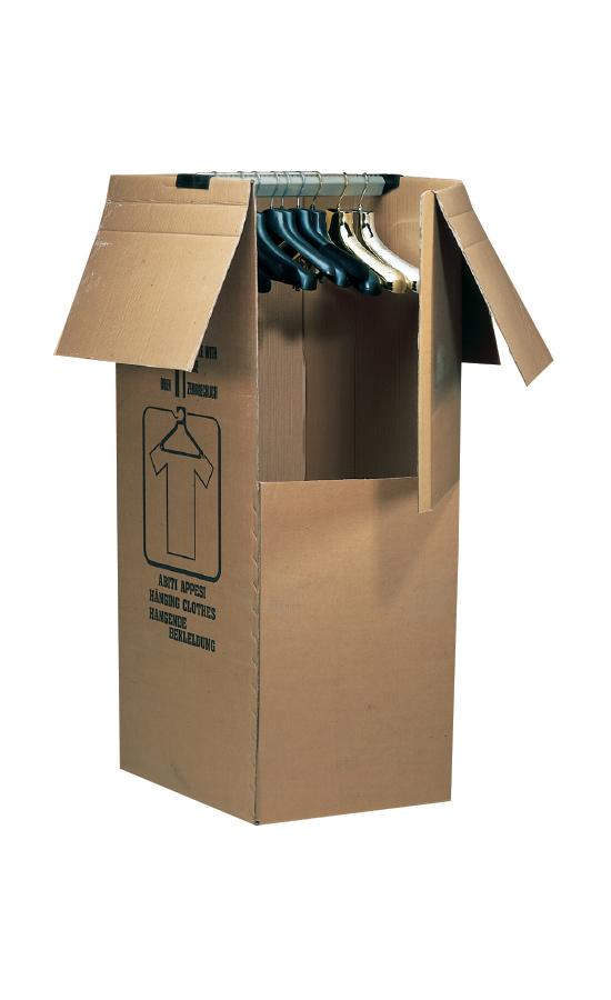Verpackungen für aufgehängte Kleidungsstücke